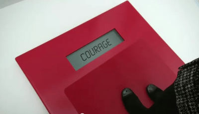 courage to lose weight
