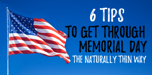 memorial day eating tips